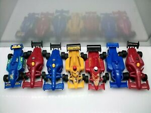 1:43 Scale??? - Formula One - F1 Style Racing Cars - Model Slot Cars x7
