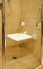 Profilo Comfort Duschklappsitz Armlehnen mit 2 Stützen Aufstehhilfe