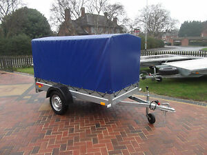 Trailer - 120 cm Floor to Top COVER Car Camping BOX Small 8FTx4FT  2,50 x 1,12 m
