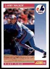 1992 Score Larry Walker #199
