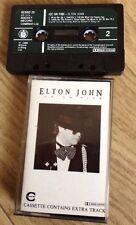 Elton John - Ice On Fire  Tape Cassette Album 1985 Free Postage