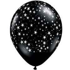 Ballons de fête noirs ovales pour la maison toutes occasions