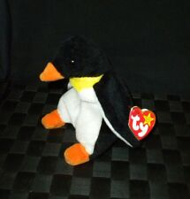 "TY Beanie Baby 1995 ""Waddle"" Plush Stuffed Animal Toy"