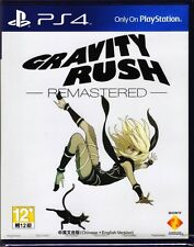 MSRNY PS4 Gravity Rush DAZE Remastered Asian version Chinese + English subtitle
