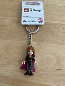 LEGO Keychain Disney Frozen II Anna (853969) New!