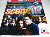 """SCREENLIFE GAMES """"TWILIGHT SCENE IT"""" DELUXE DVD BOARD GAME 13yrs TO ADULT VGC"""