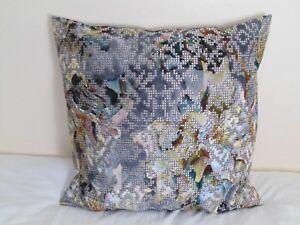 Designers Guild Velvet Fabric Bardiglio Zinc Cushion Cover size available