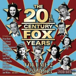 The 20th Century Fox Years Volume 2 (1939-1943) Vol Two 1939 1943 2 Disc New CD