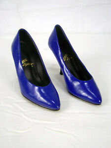 Blue High Heels Rushhour Express Shoes