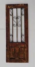 """DECORATIVE WOODEN DOOR WINDOW PANEL 39 5/8"""""""