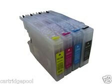 Refillable ink cartridge for Brother LC75 MFC-5610W MFC-J625DW MFC-J6510DW