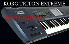 KORG TRITON EXTREME  - Propellerhead REASON REFILL - Over 1,000 instruments