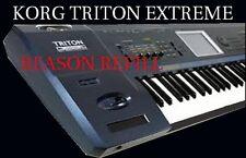KORG TRITON EXTREME  - Propellerhead REASON REFILL - Over 1,000 instruments