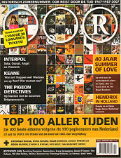MAGAZINE OOR 2007 nr. 07 - INTERPOL/KEANE/JIMI HENDRIX IN HOLLAND/SUMMER OF LOVE