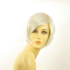 Perruque femme blanche cheveux lisses ref CECILIA 60