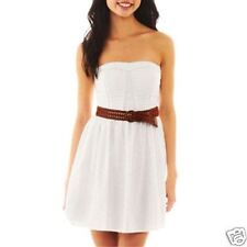 Girl's Strapless Allover Eyelet Dress By My Michelle New Size Junior 11