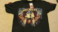 Dan Henderson Hendo Strikeforce Columbus Walkout Black T-shirt New Medium M