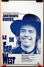 Jacques Brel : Le Far West : POSTER