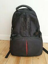 Bv Ans Jo Camera Back Pack Bag Black Padded Rucksack
