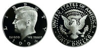 1994 S Proof Kennedy Half Dollar , Clad US Coin , Gem Deep Cameo! FREE SHIPPING!