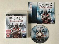 Assassin's Creed Brotherhood - PS3 Playstation 3 - FREE POSTAGE - Assassins