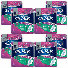 Always Platinum Sanitary Towels Wings, Ultra Normal, Size-1, 8 Pack of 12 Pads