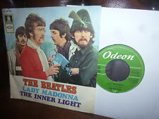 """Beatles, Lady Madonna, the inner lights, Odeon o 23733, Hippy COVER, single, 7"""""""