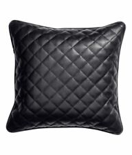 """Genuine Real Sheepskin Leather Pillow Cushion Cover Leather Soft Cover 18"""" X 18"""""""