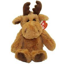 "Archibald Moose Ty Attic Treasures Plush stuffed animal figure 8"" new with tags"