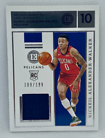 2019-20 Panini Encased FOTL Nickeil Alexander-Walker Rookie Jersey SP /199 RC