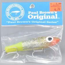 Paul Browns Original Series Mirrolure Original 7 Fishing Lure Q3