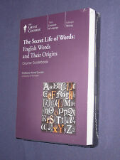 Teaching Co Great Courses DVDs       SECRET  LIFE of  WORDS       new & sealed