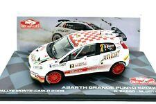 Coche Auto Rally Rallye Escala 1:43 Fiat Abarth Grande Punto S2000 miniaturas