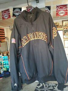 Vintage San Francisco Giants Jacket Majestic MLB Authentic Size XXL