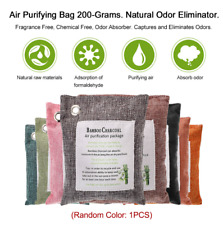 Pack Air Purifying Bag Nature Fresh Style Charcoal Bamboo Purifier Mold Odor