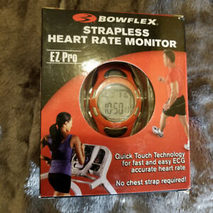 BOWFLEX EZ PRO Strapless HEART RATE MONITOR WATCH (red)