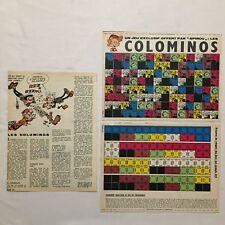 Supplement Journal Spirou - Jeu COLOMINOS 1964 - FRANQUIN - BD