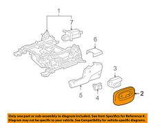 Buick GM OEM 05-07 Rainier Seat Track-Upper Cover 89043631