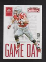 2016 Panini Contenders Game Day #1 Joey Bosa rookie card, Los Angeles Chargers