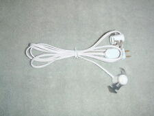 Double 6ft C7 blowmold / village replacement light cord  NEW  5 cords