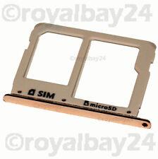 Samsung Galaxy A3 SIM Slot Schlitten Halter A310F Card holder Tray microSD gold