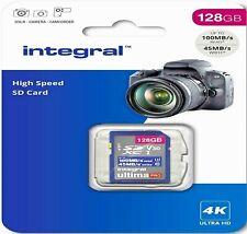 128gb SD Card u3 SDXC Class 10 Speicher für Videokamera Camcorder (4k UHD Video)