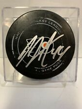 GAME USED SCORED GOAL PUCK JEAN-GABRIEL PAGEAU SIGNED AUTOGRAPHED 14th Career