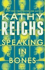 Temperance Brennan Speaking in Bones Kathy Reichs 2015, Hardcover FIRST EDITION