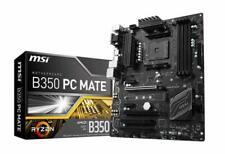 MSI B350 PC MATE AM4 AMD Motherboard. Used.