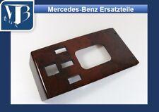 H-011/ Mercedes W107 R107 560SL Echtholz Wurzelholz Schaltkulisse ab ´85
