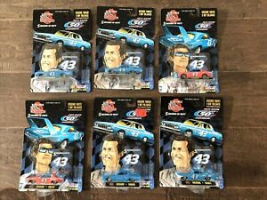 Richard Petty 5 Decades 50th Annivers Nascar Racing Champions 1/64 Lot of 6 NIB
