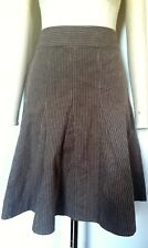 BNWOT LAURA ASHLEY STRETCH STRIPE SKIRT 10