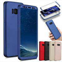 For Samsung Galaxy S8+ Note 8 ShockProof Hybrid Hard Armor Full Cover Phone Case
