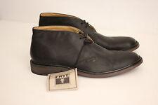 NEW Frye Men's 'James' Chukka Boot - Black Leather - 11 D - 3487880  (S88)